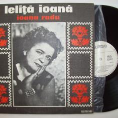 Disc vinil IOANA RADU - Lelita Ioana (ST - EPE 01007) - Muzica Populara electrecord