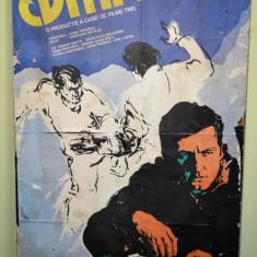 Afis ROMANIAFILM - Cumpana: Ovidiu Iuliu Moldovan -1979- 60cm x 100cm