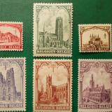 Belgia 1928 100 Euro catedrale religie arhitectura - serie nestampilata MNH