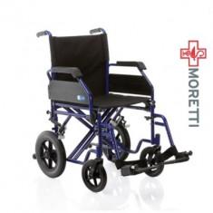 MCP 205 Dual Go - Carucior transport pacienti, tranzit 150Kg - Scaun cu rotile