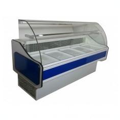 Vitrine frigorifice cu geam curbat producator vit-nic.ro MODEL V1C - Vitrina Frigorifica Alta