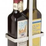 Suport inox ILSA pentru ulei si otet 25cl MN0144154 Raki - Oliviera