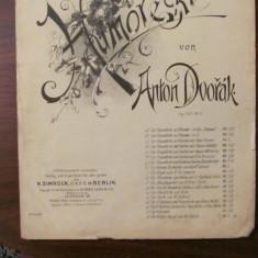 "PVM - Partitura interbelica VIOARA ""Humoreske"" Anton DVORAK"