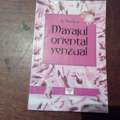 MASAJUL ORIENTAL SENZUAL - Aleksei Novikov - Carte ezoterism