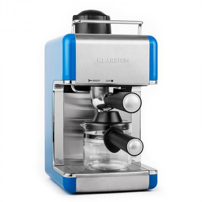 ONEconcept Sagrada Azzuro o?el aparat espresso portfiltrului 800W 3,5 bar 4 cesti foto mare