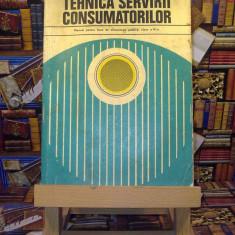 E. Dobrescu - Tehnica servirii consumatorilor clasa a IX a