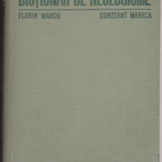 Florin Marcu, Constant Maneca - Dictionar univers enciclopedic gold de neologisme