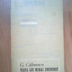 n3  Viata lui Mihai Eminescu - George Calinescu