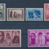 Belgia 1939 75 Euro catedrala Orval religie - serie nestampilata MH