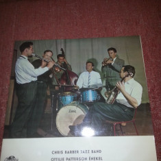 Chris Barber Jazz Band- Ottilie Patterson Enekel-Qualiton 1963 Hungary vinil - Muzica Jazz