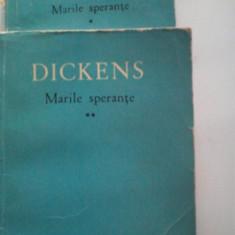 CHARLES DICKENS - MARILE SPERANTE (2 vol.) - Roman