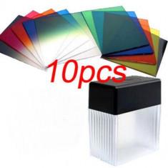 Set 10 filtre colorate Cokin tip P + cutie