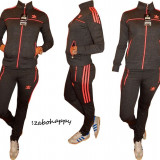 Trening Adidas pentru dama. - Trening dama Adidas, Marime: S, M, L, XXL, Culoare: Gri, Bumbac
