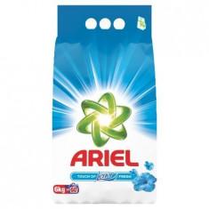 Detergent pudra Ariel Touch of Lenor Fresh 6 kg - 60 spalari - Detergent rufe