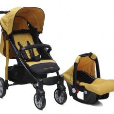 Carucior copii 2 in 1 Cangaroo Arrow Mustard - Landou