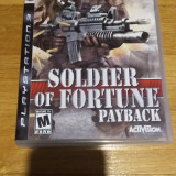PS3 Soldier of fortune Payback - joc original by WADDER, Shooting, 18+, Single player, Activision