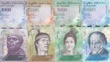 Bancnota Venezuela 1.000, 2.000, 5.000 si 10.000 Bolivares 2016(2017) - PNew UNC