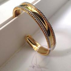 LICHIDARE STOC-Bratara dama bijuterii reglabila asg2- placata cu AUR 14K