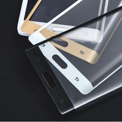 Folie Sticla Curbata 3D / Full size Tempered Glass Samsung Galaxy Note Edge foto