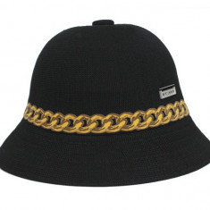 Palarie neagra Kangol Chain Casual (Masuri : S, M, L, XL) - Cod 9897661 - Palarii Barbati