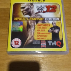 PS3 Wwe 12 platinum - joc original by WADDER - Jocuri PS3 Thq, Sporturi, Multiplayer