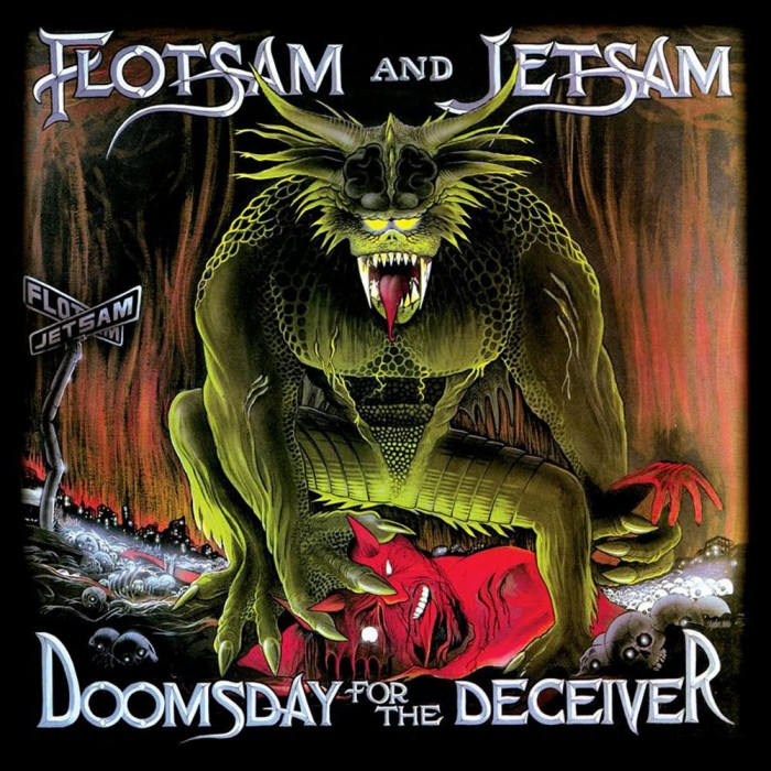 Flotsam Jetsam Doomsday For The Deceiver Slipcase (cd+dvd)