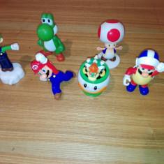 Pachet figurine super mario, toad, luigi Altele