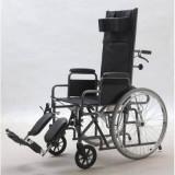 Fotoliu rulant pliabil pentru transport pacienti YJ-011E - Scaun cu rotile