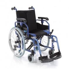 Fotoliu rulant pliabil cu structura usoara din aluminiu MCP760 - Scaun cu rotile