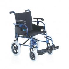 Fotoliu rulant pliabil cu structura usoara din aluminiu MCP735 - Scaun cu rotile