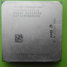 Procesor AMD Sempron 2800+ 1.6GHz socket AM2 - DEFECT - Procesor PC AMD, Numar nuclee: 1, 1.0GHz - 1.9GHz