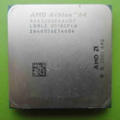 Procesor AMD Athlon 64 3200+ 2GHz socket AM2 - DEFECT - Procesor PC AMD, Numar nuclee: 1, 2.0GHz - 2.4GHz