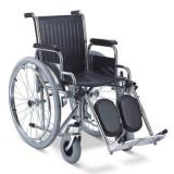 Fotoliu rulant pliabil pentru transport pacienti MFS 902C - Scaun cu rotile