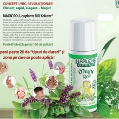 Calmant dureri Magic Roll-on cu plante BIO Krauter