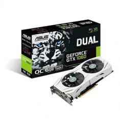 VC ASUS NVIDIA GTX1060 6GB DUAL-GTX1060-O6G - Placa video PC