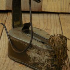 OPAIȚ MARE ȘI VECHI CONFECȚIONAT MANUAL DIN TABLĂ, LAMPĂ PRIMITIVĂ PE UNTDELEMN! - Metal/Fonta, Scule si unelte