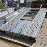 Remorca/Platforma 3.5 m x 2 m, 2 axe, sarcina max 1500 kg- Auto Rsa 3519/15 - Utilitare auto