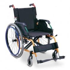 Fotoliu rulant pliabil pentru copii MFS 980LA - Scaun cu rotile