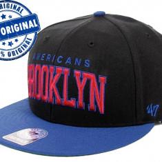 Sapca '47 Brooklyn Americans - originala - flat brim - snapback - oficiala NHL