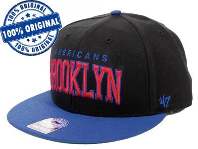 Sapca '47 Brooklyn Americans - originala - flat brim - snapback - oficiala NHL foto
