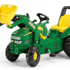 Tractor Cu Pedale Copii ROLLY TOYS 046638 Verde - Vehicul
