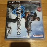 PS3 Inversion - joc original by WADDER, Shooting, 18+, Single player, Namco Bandai Games