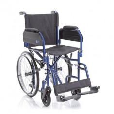 Fotoliu rulant pliabil pentru transport pacienti MCP620 - Scaun cu rotile