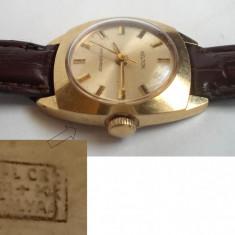 Ceas dama Timex KELTON, placat cu aur, functional, Mecanic-Manual