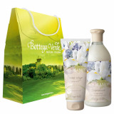 Set cadou - Gel de dus si crema de corp cu iris alb nou - Bottega Verde
