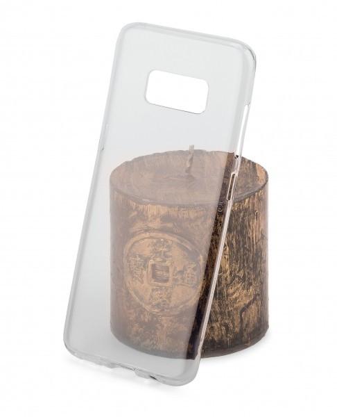 Husa silicon TPU Samsung Galaxy S8 G950 Goospery Mercury Clear Jelly transparenta Blister Originala foto mare