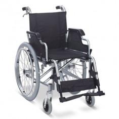 Fotoliu rulant pliabil cu structura usoara din aluminiu MFS 908LJ - Scaun cu rotile