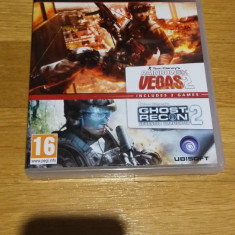 PS3 Tom Clancy's Rainbow six Vegas 2 CE & Ghost recon AW - joc orig by WADDER - Jocuri PS3 Ubisoft, Shooting, 16+, Multiplayer