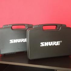 Geanta SHURE pt transport microfoane (Valiza, Case) Compartimentata