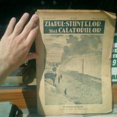Ziarul stiintelor si al calatoriilor anul XXXVII Nr. 1 Marti 3 Ianuarie 1933